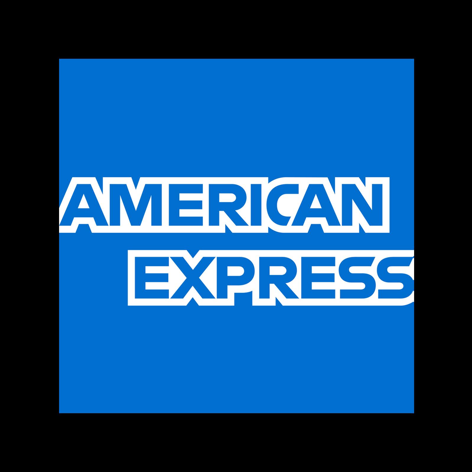 American Express AMEX Logo