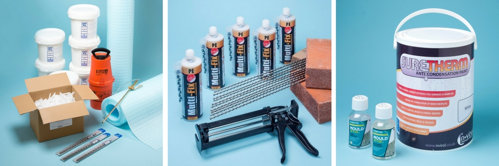 Landlord Damp Proofing Products