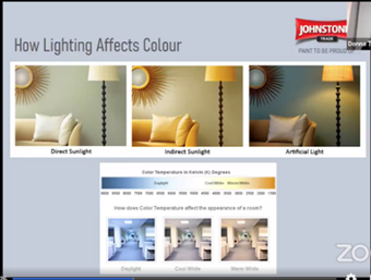 Lighting and Colour