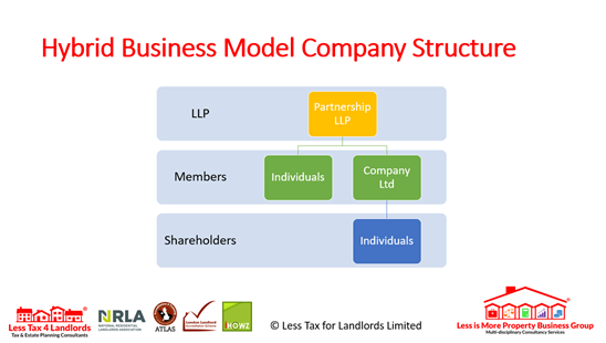Hybrid Business Model structure