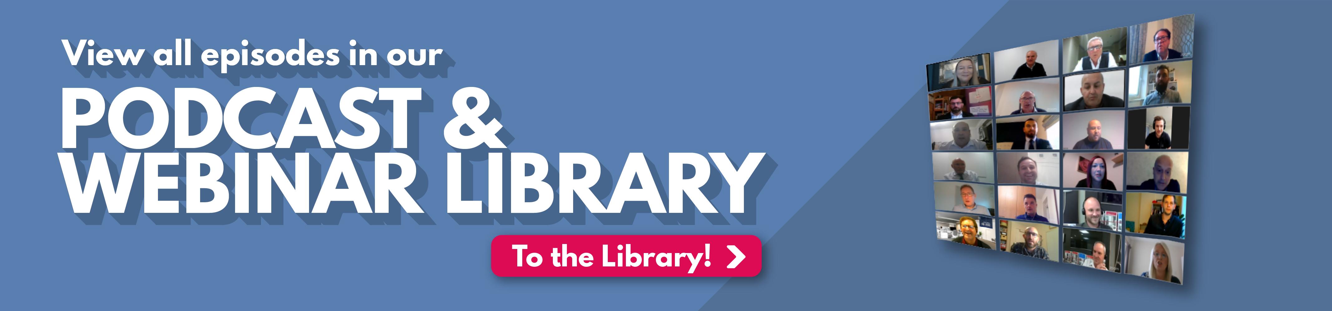Webinar Library Footer